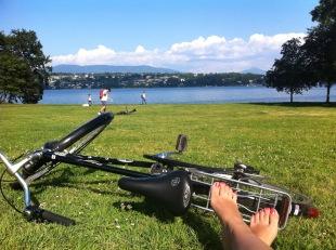 Leman lake, GENEVA