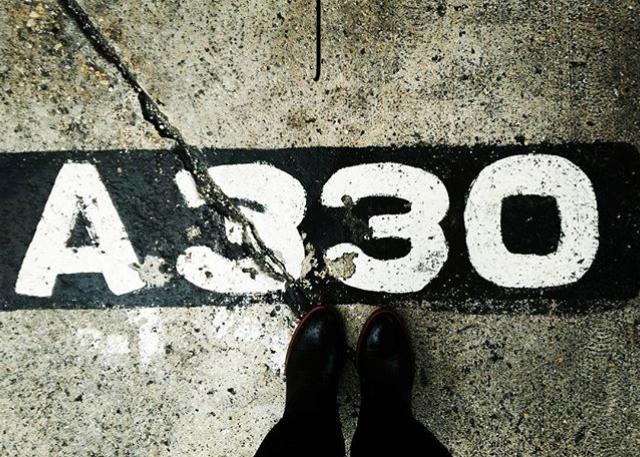 Stop line, A330